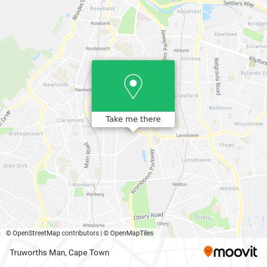 Truworths Man map