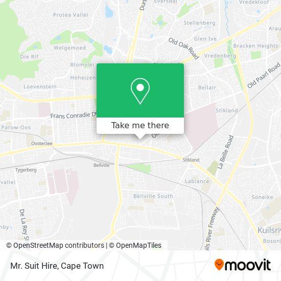 Mr. Suit Hire map