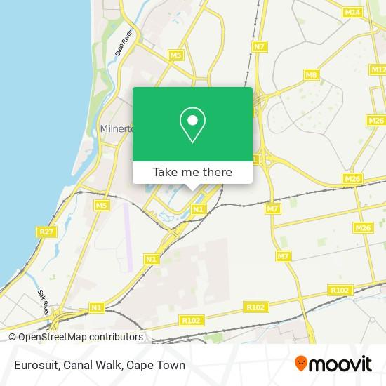 Eurosuit, Canal Walk map