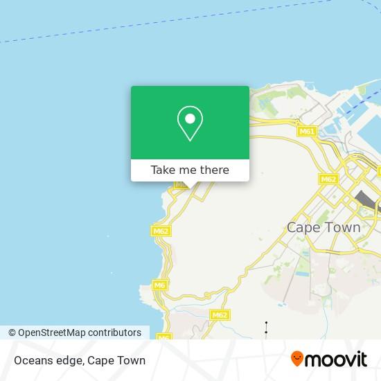 Oceans edge map