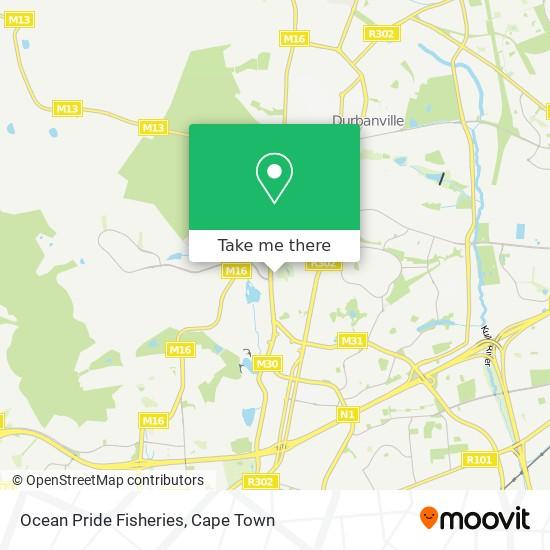 Ocean Pride Fisheries map