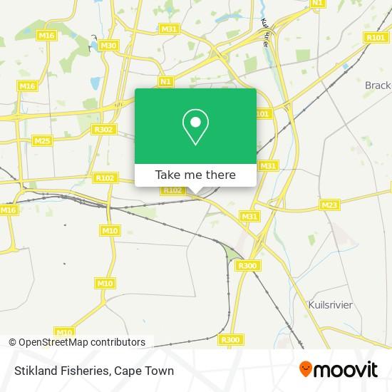 Stikland Fisheries map