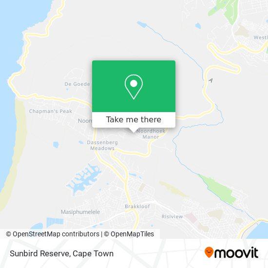 Sunbird Reserve map
