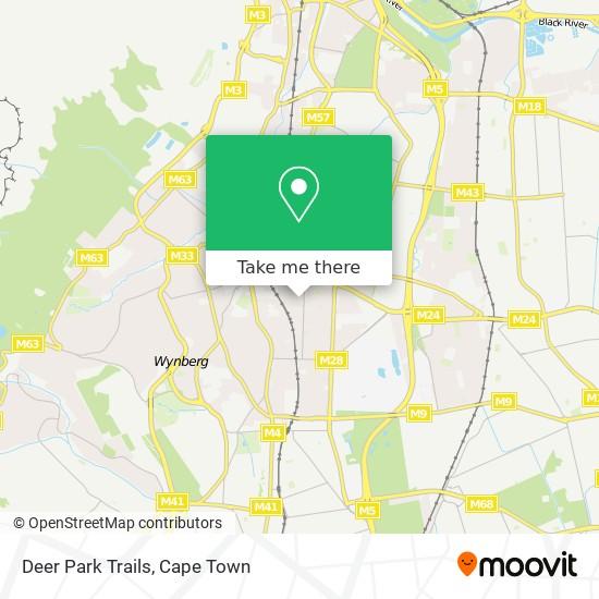 Deer Park Trails map