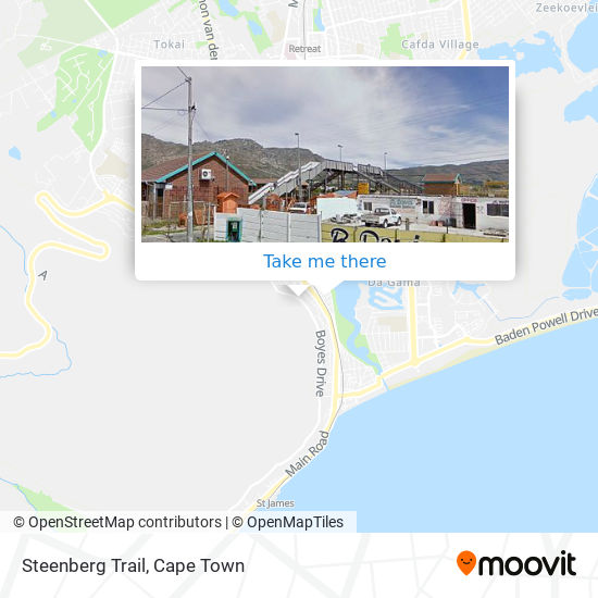 Steenberg Trail map