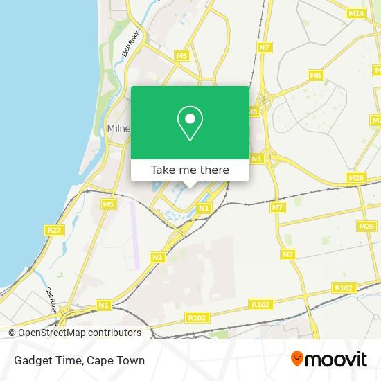 Gadget Time map