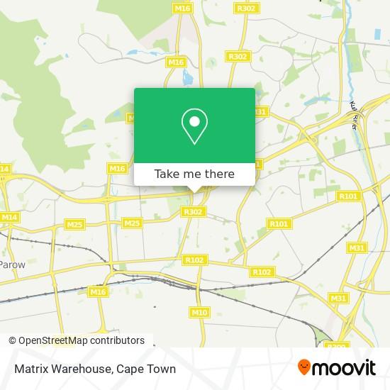 Matrix Warehouse map