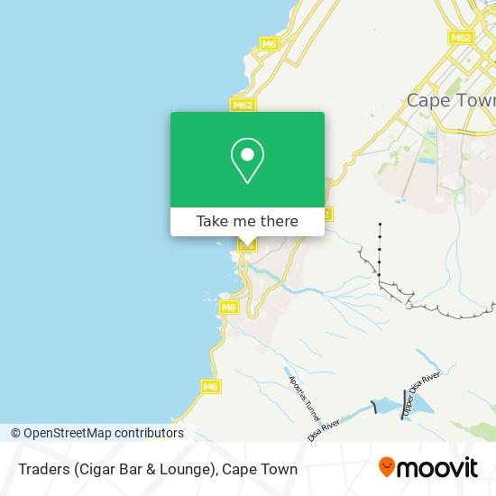 Traders (Cigar Bar & Lounge) map