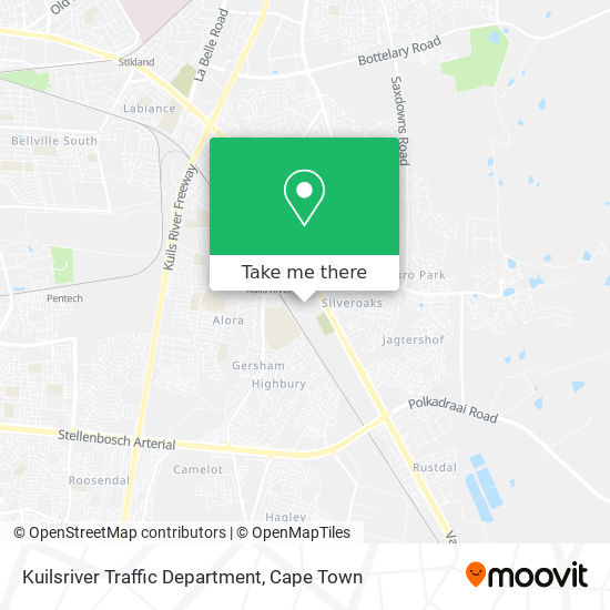 Kuilsriver Traffic Department map