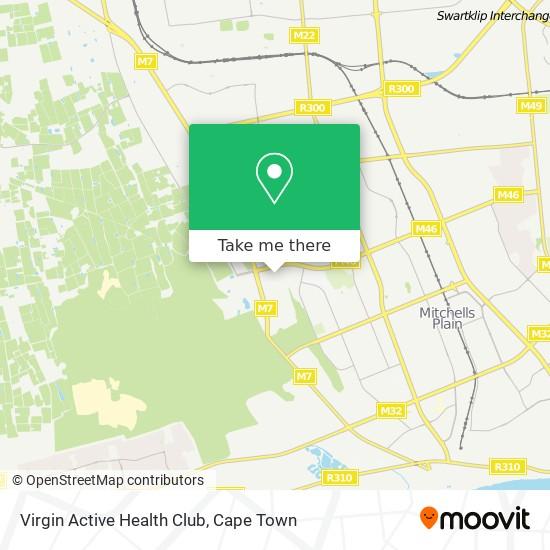 Virgin Active Health Club map