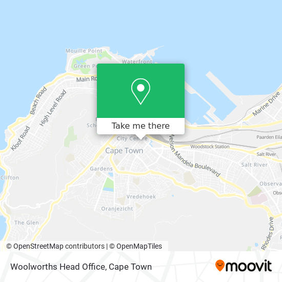Woolworths Head Office map