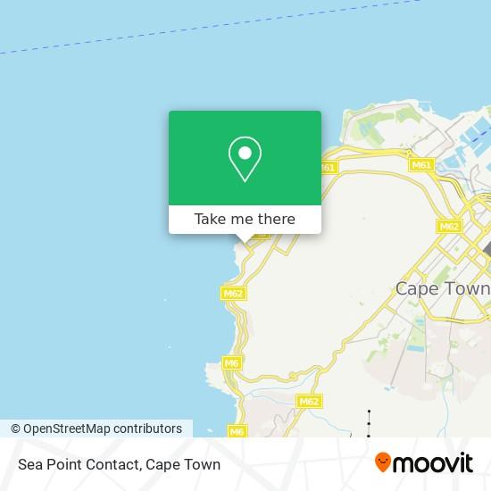 Sea Point Contact map