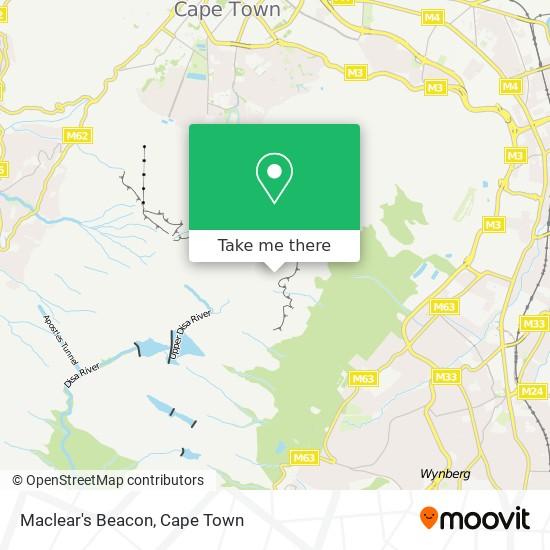 Maclear's Beacon map