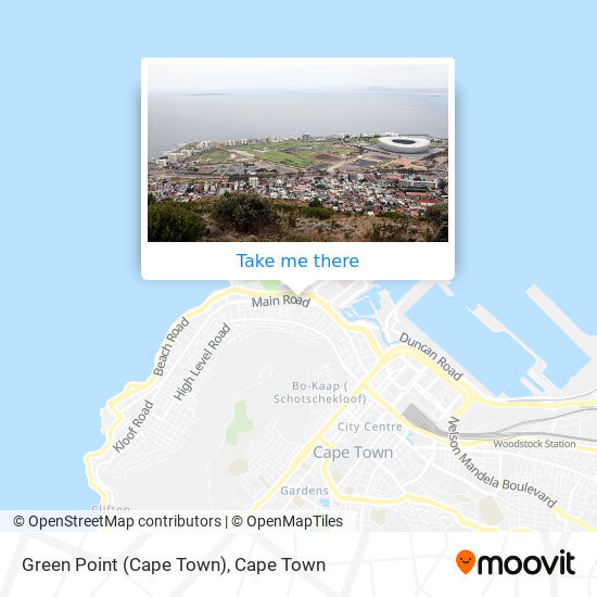 Green Point (Cape Town) map