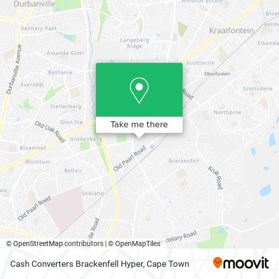 Cash Converters Brackenfell Hyper map