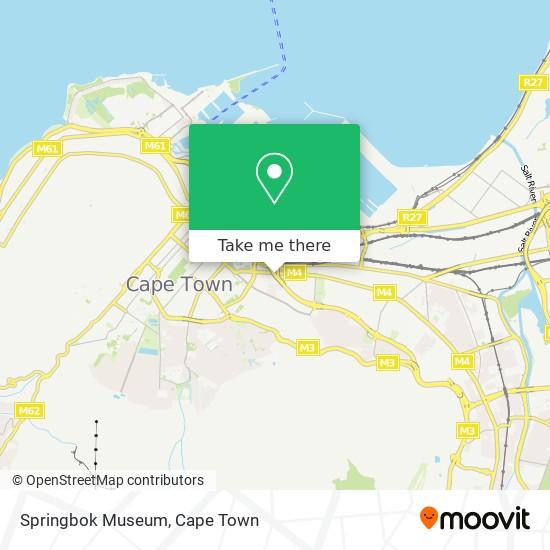 Springbok Museum map
