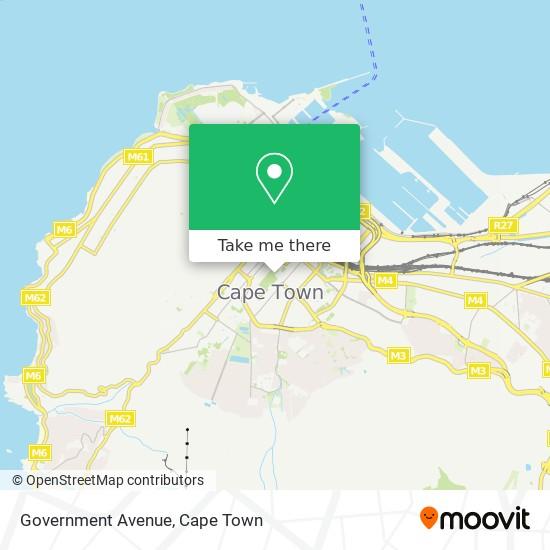 Government Avenue map