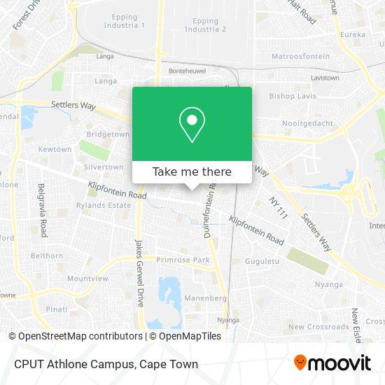 CPUT Athlone Campus map