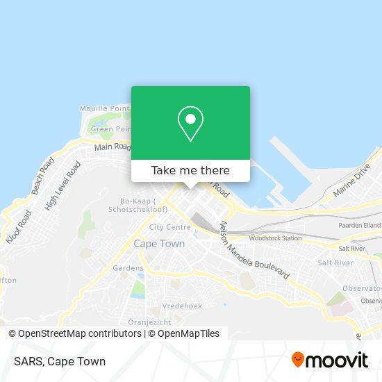 SARS map