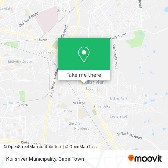 Kuilsriver Municipality map