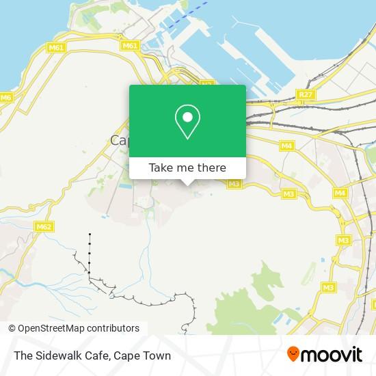 The Sidewalk Cafe map