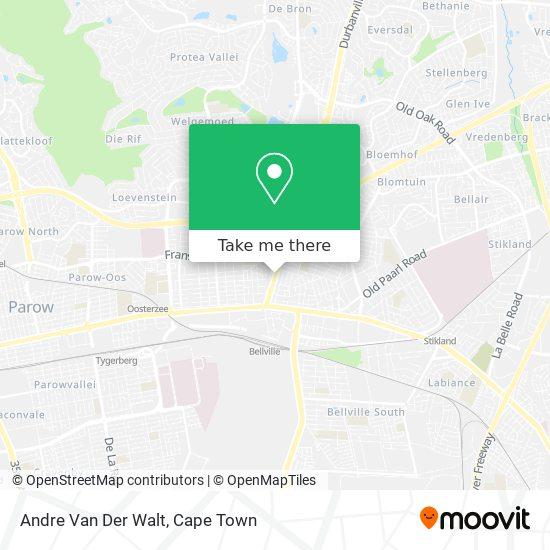 Andre Van Der Walt map