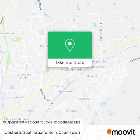 Joubertstraat, Kraaifontein map