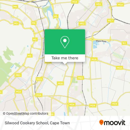 Silwood Cookery School map