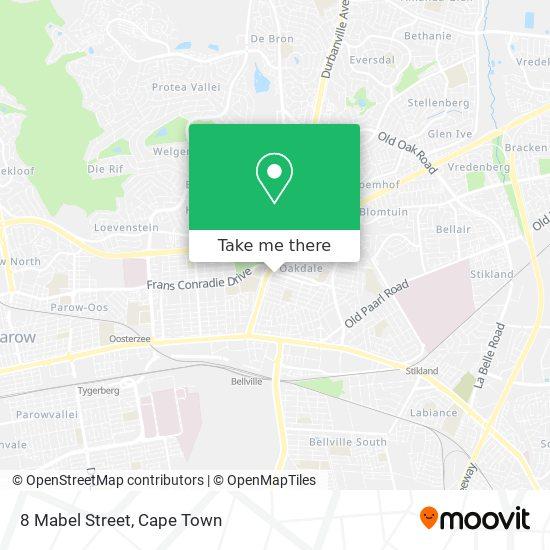 8 Mabel Street map