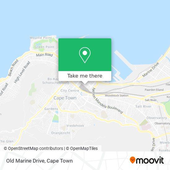 Old Marine Drive map