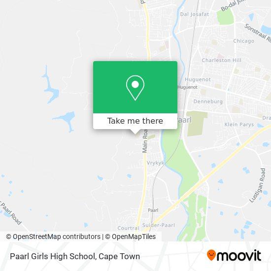 Paarl Girls High School map