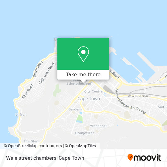 Wale street chambers map