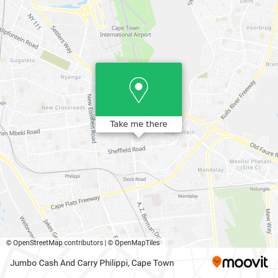 Jumbo Cash And Carry Philippi map