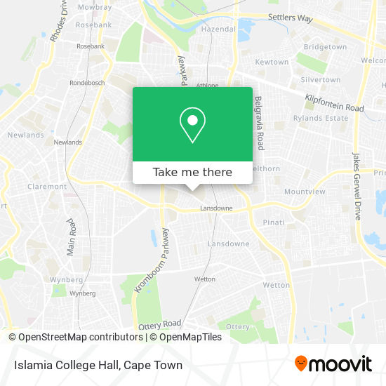 Islamia College Hall map