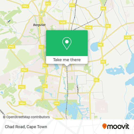 Chad Road map