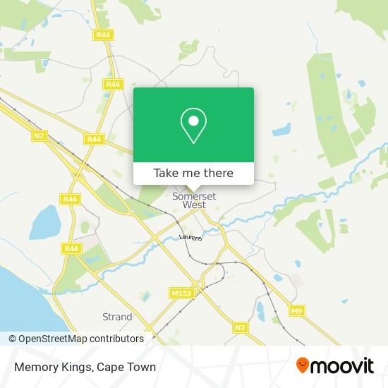Memory Kings map