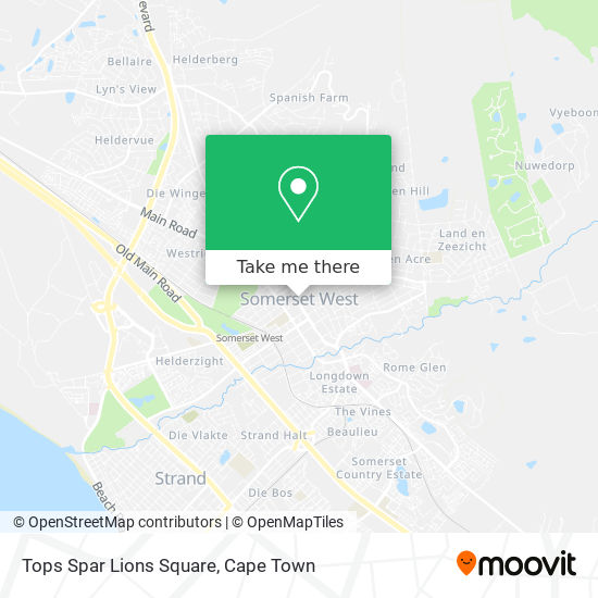 Tops Spar Lions Square map