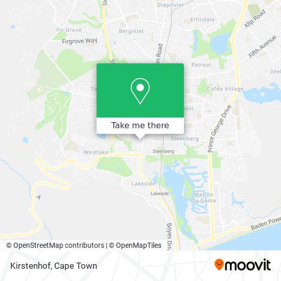 Kirstenhof map