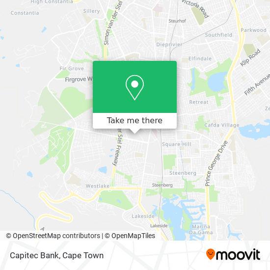 Capitec Bank map