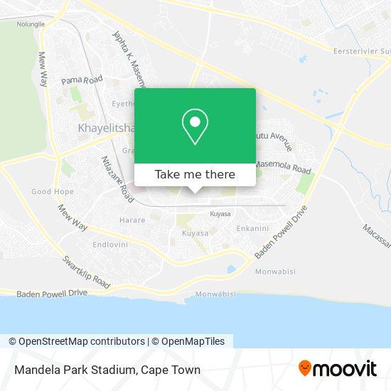 Mandela Park Stadium map