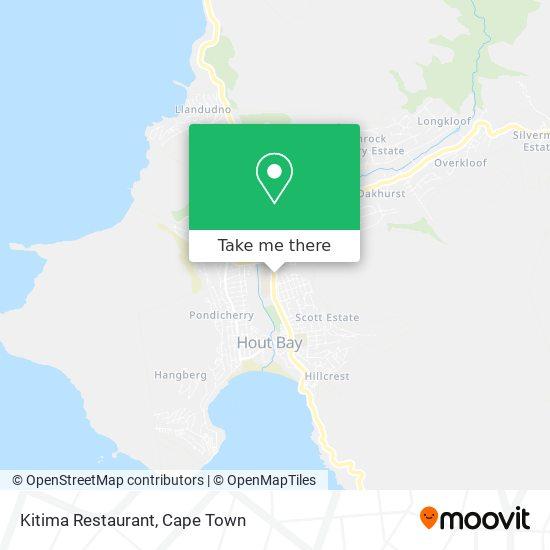 Kitima Restaurant map