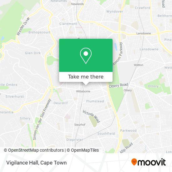 Vigilance Hall map