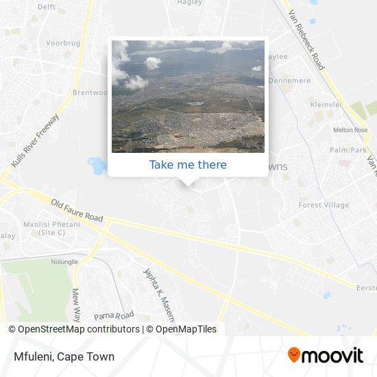Mfuleni map