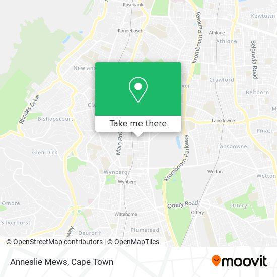 Anneslie Mews map