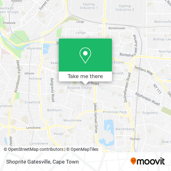 Shoprite Gatesville map