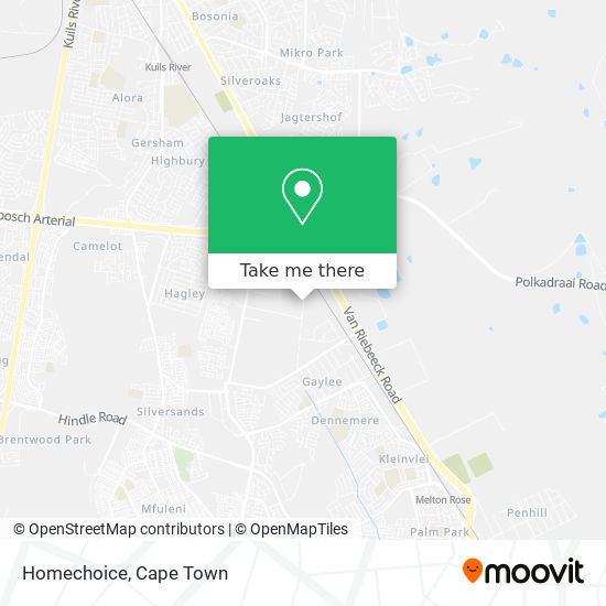 Homechoice map