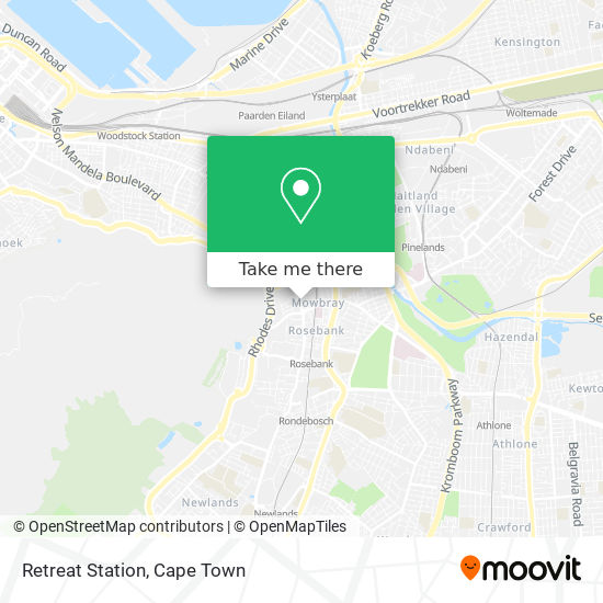 Retreat Station map