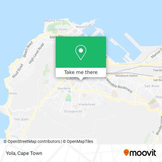 Yola map