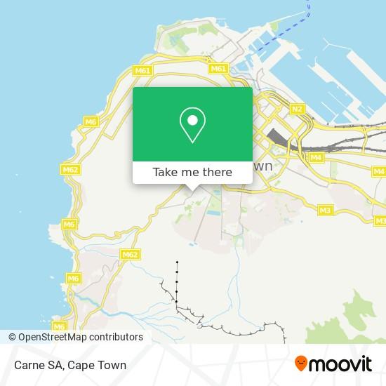 Carne SA map