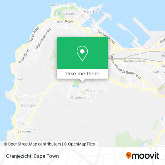 Oranjezicht map